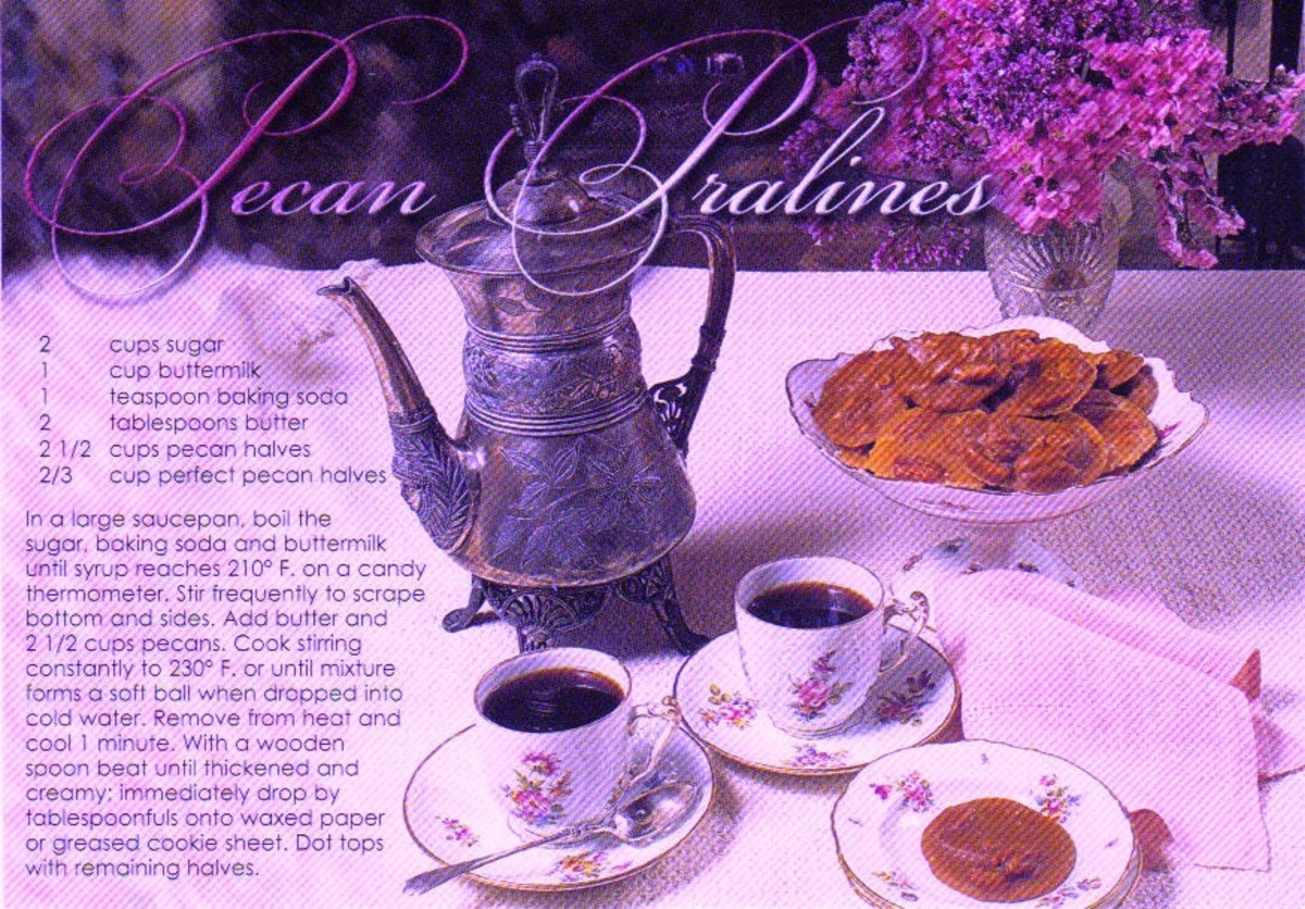 Recipe for Pecan Pralines