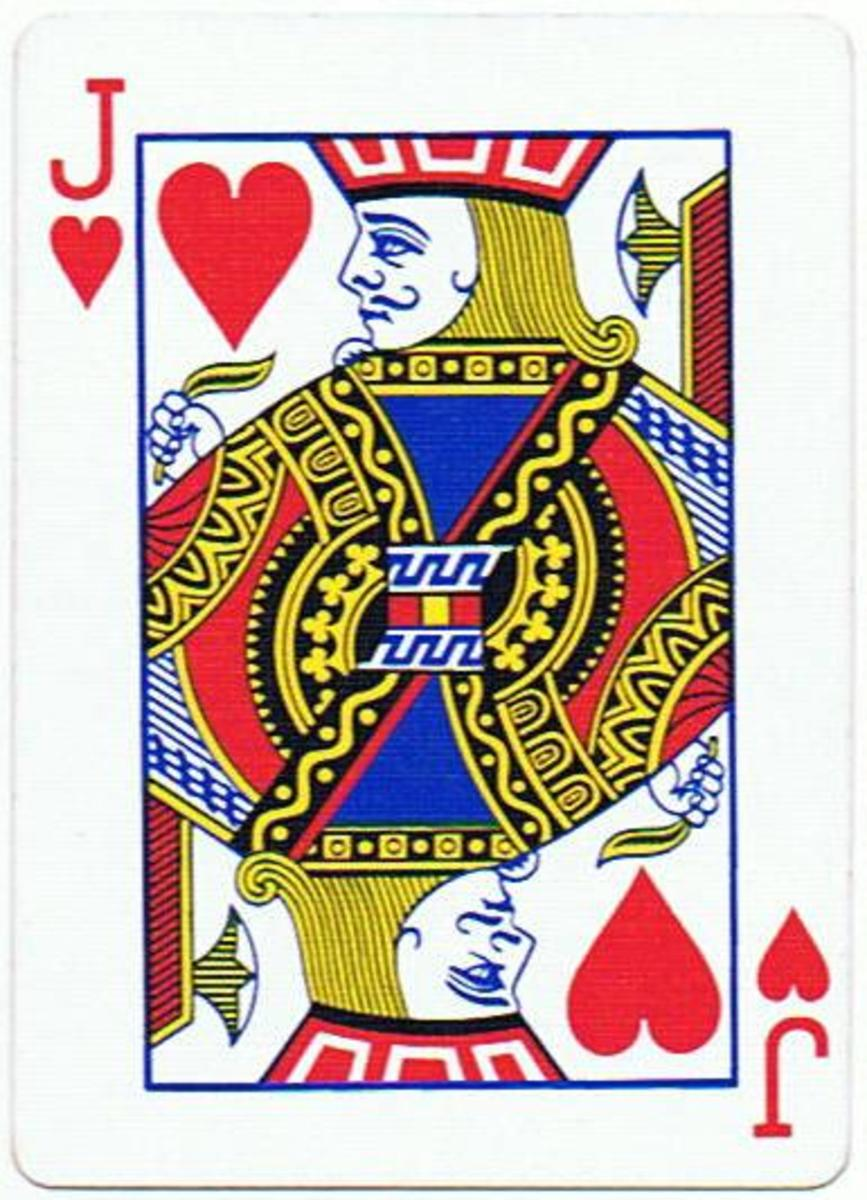 jack of hearts clip art