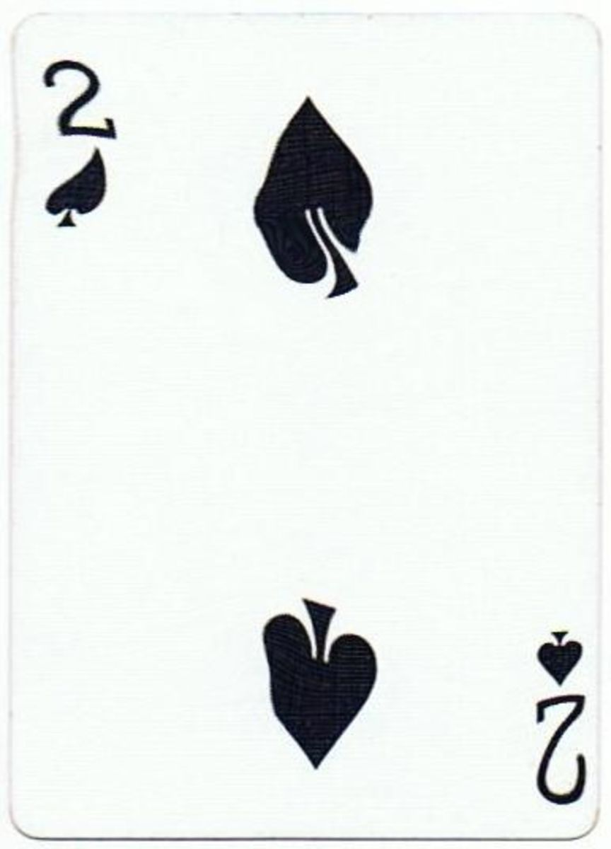 2 of spades clipart