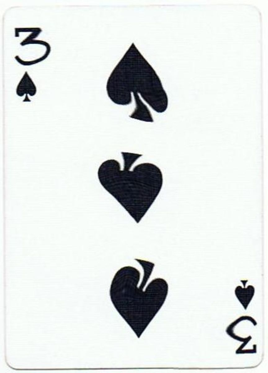 3 of spades playing cards clip art