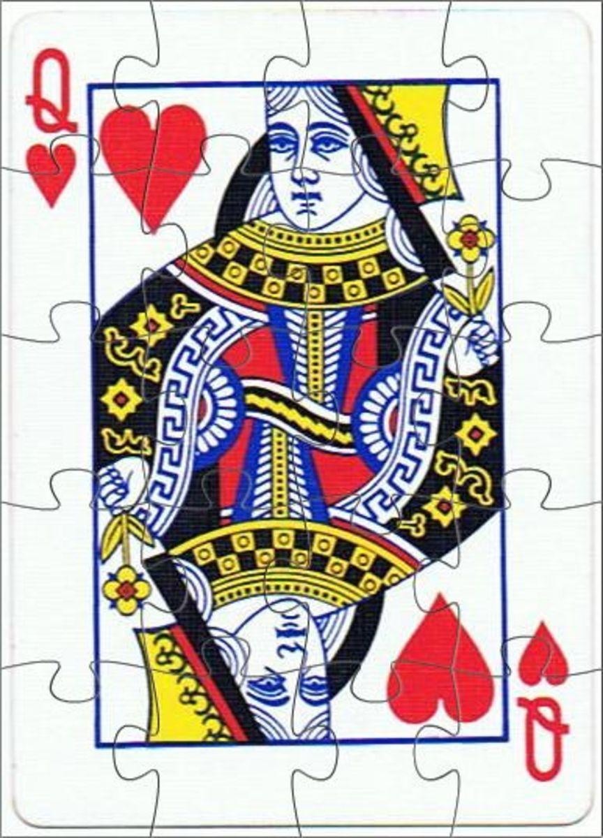 queen of hearts clip art