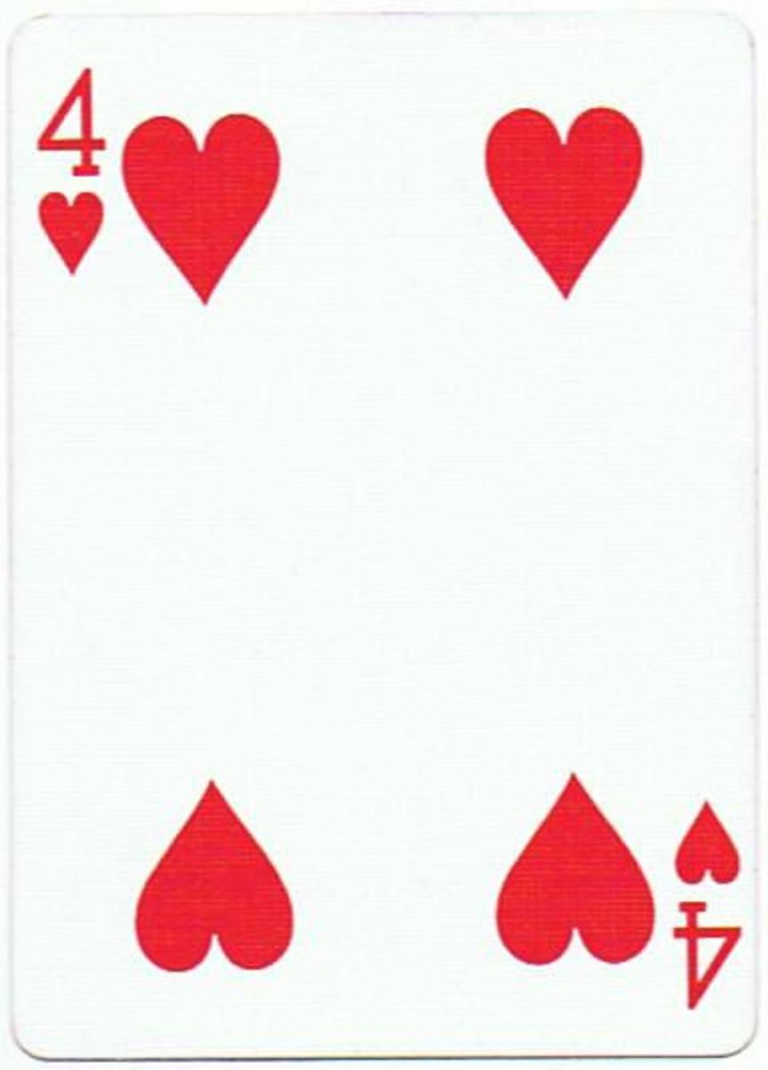 4 of hearts