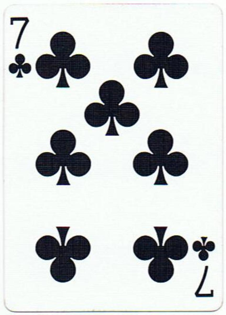 7 of clubs