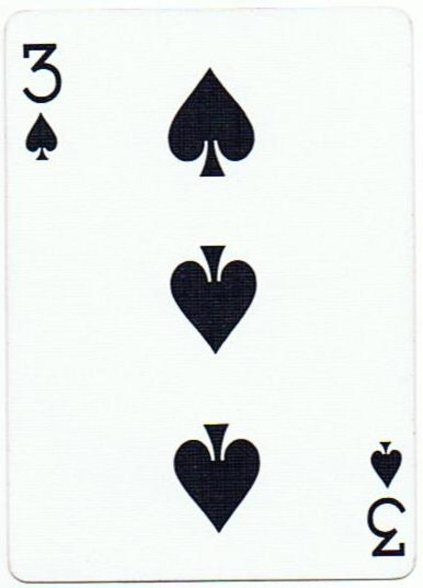 3 of spades free clip art