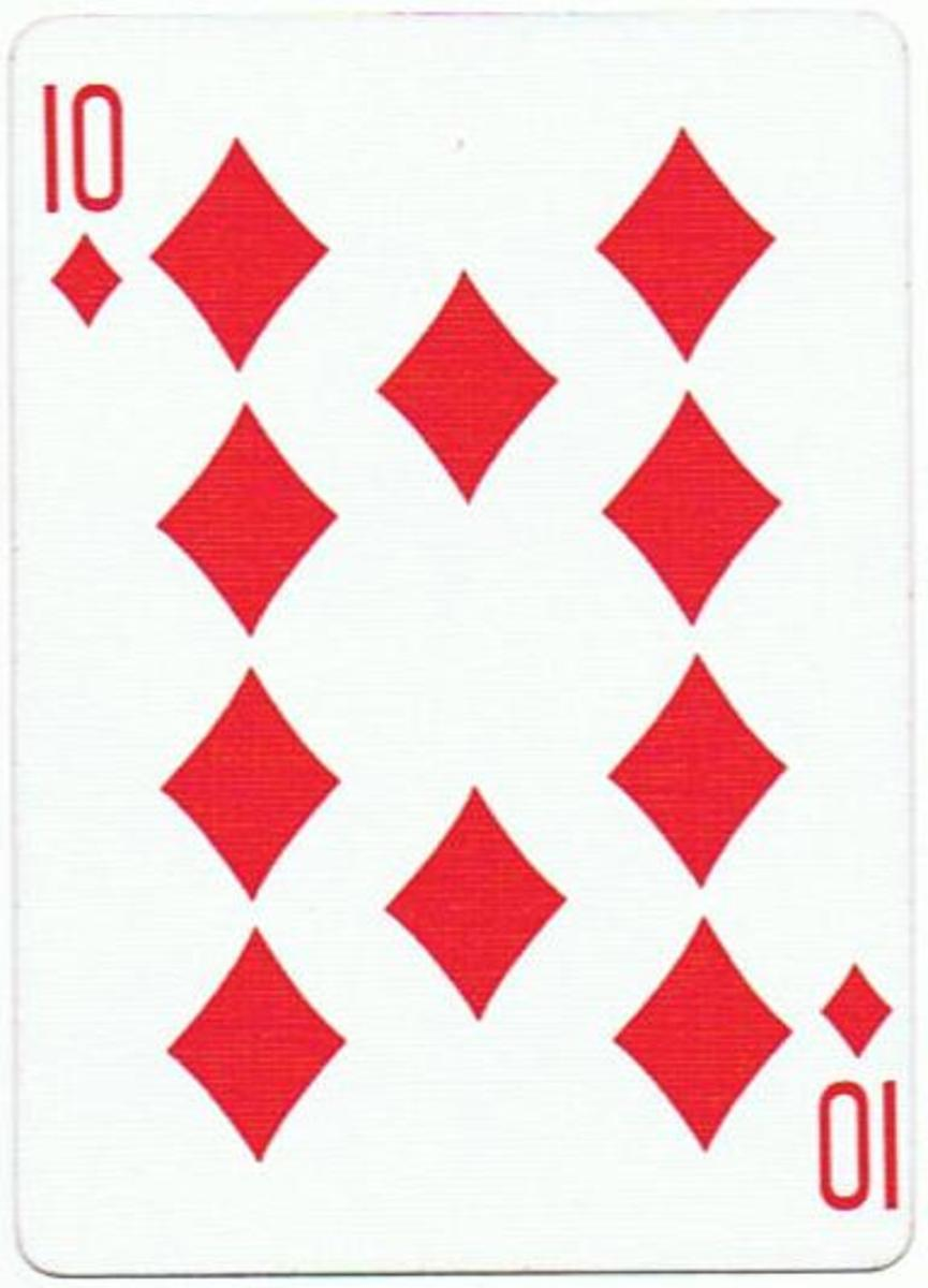 10 of diamonds