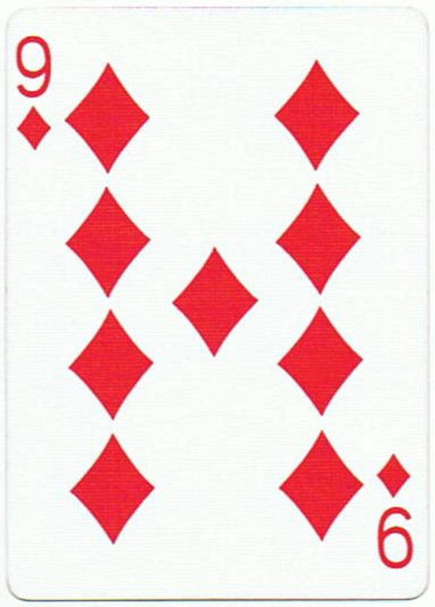 9 of diamonds