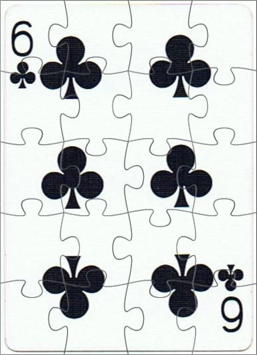 6 of clubs free clipart
