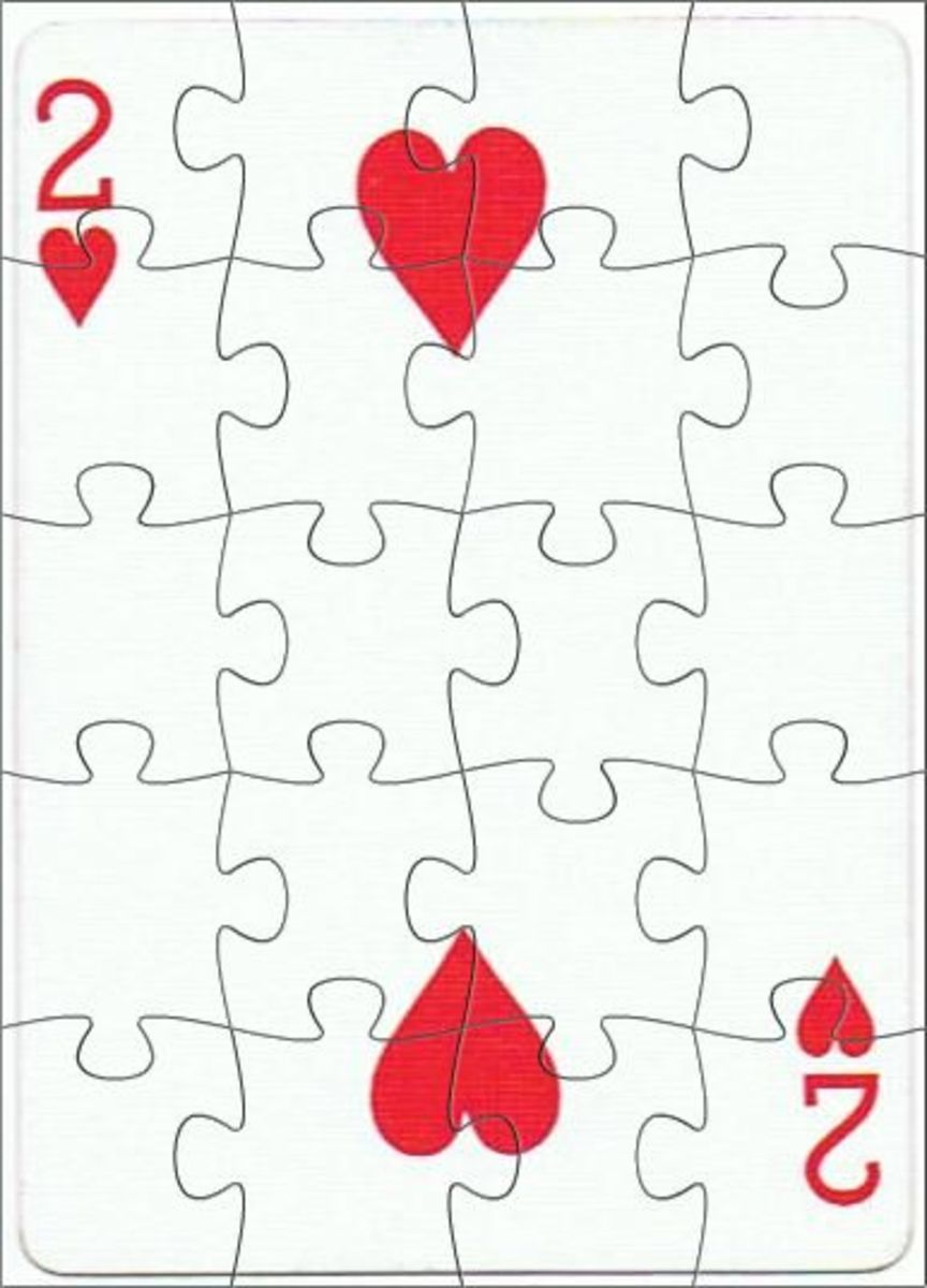 2 of hearts clipart