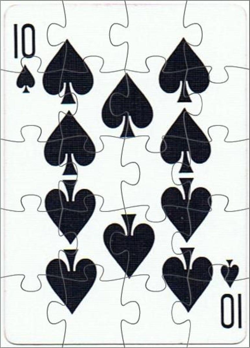 10 of spades clip art