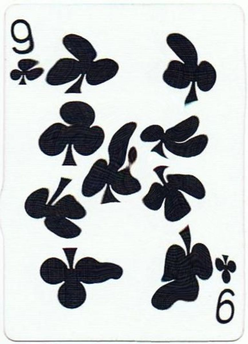 9 of clubs clipart