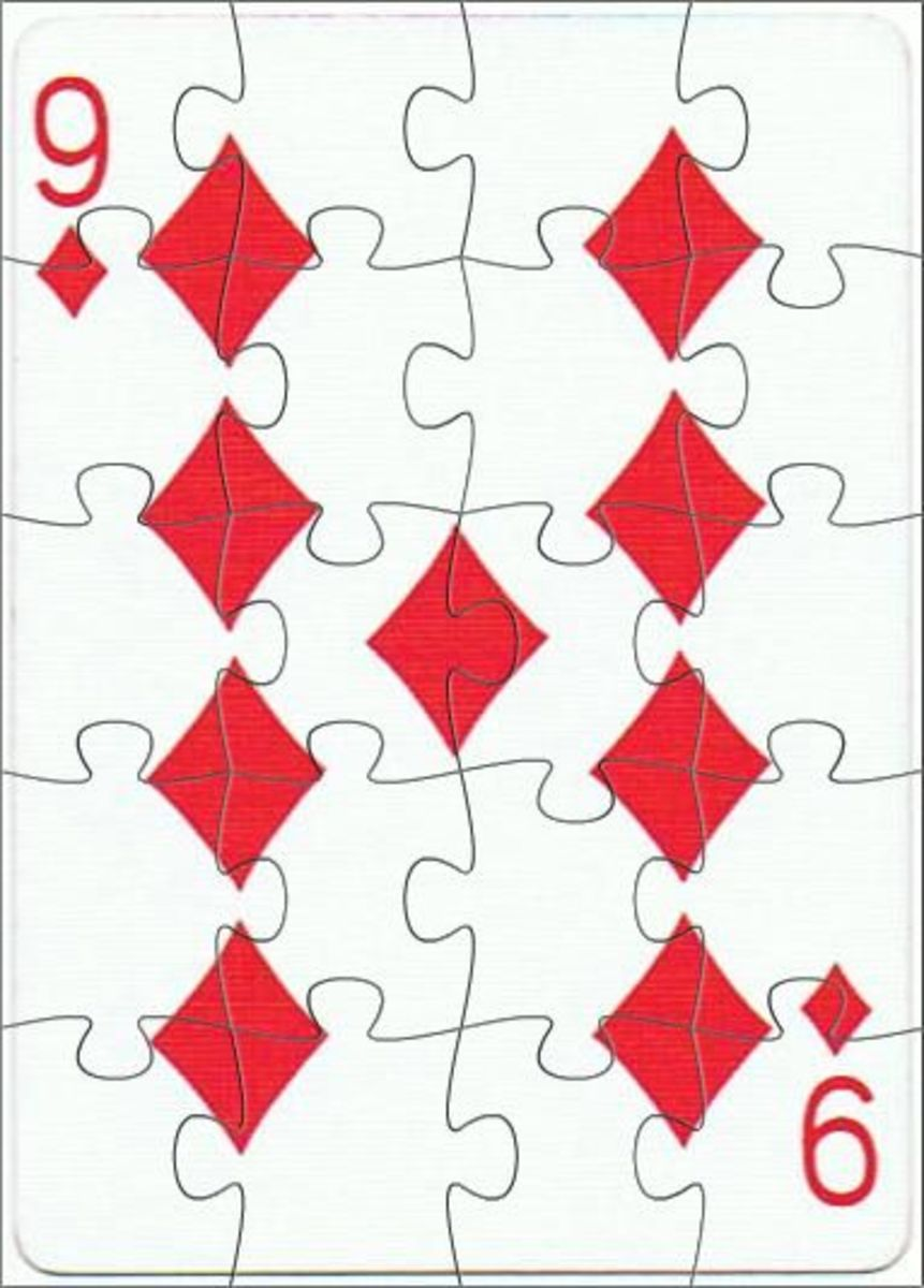 9 of diamonds free clip art