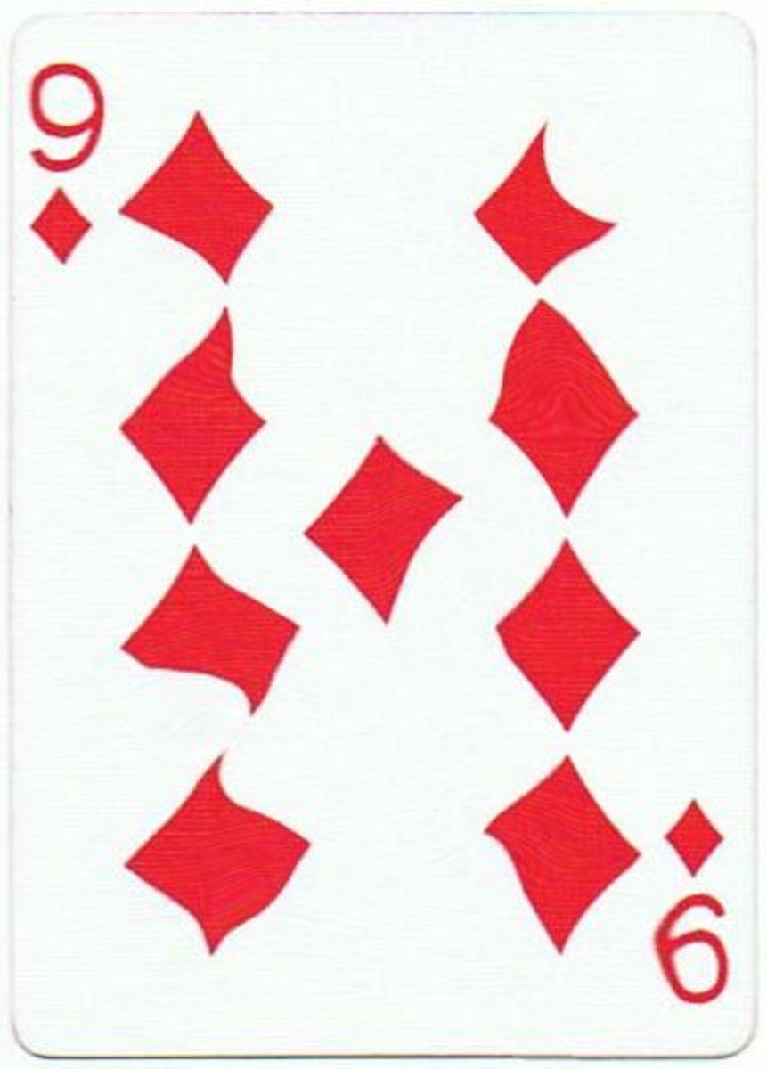 9 of diamonds