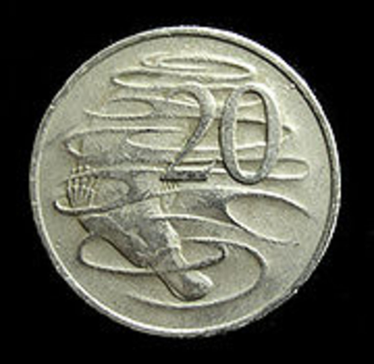 The Platypus on Australia's 20 cent coin.
