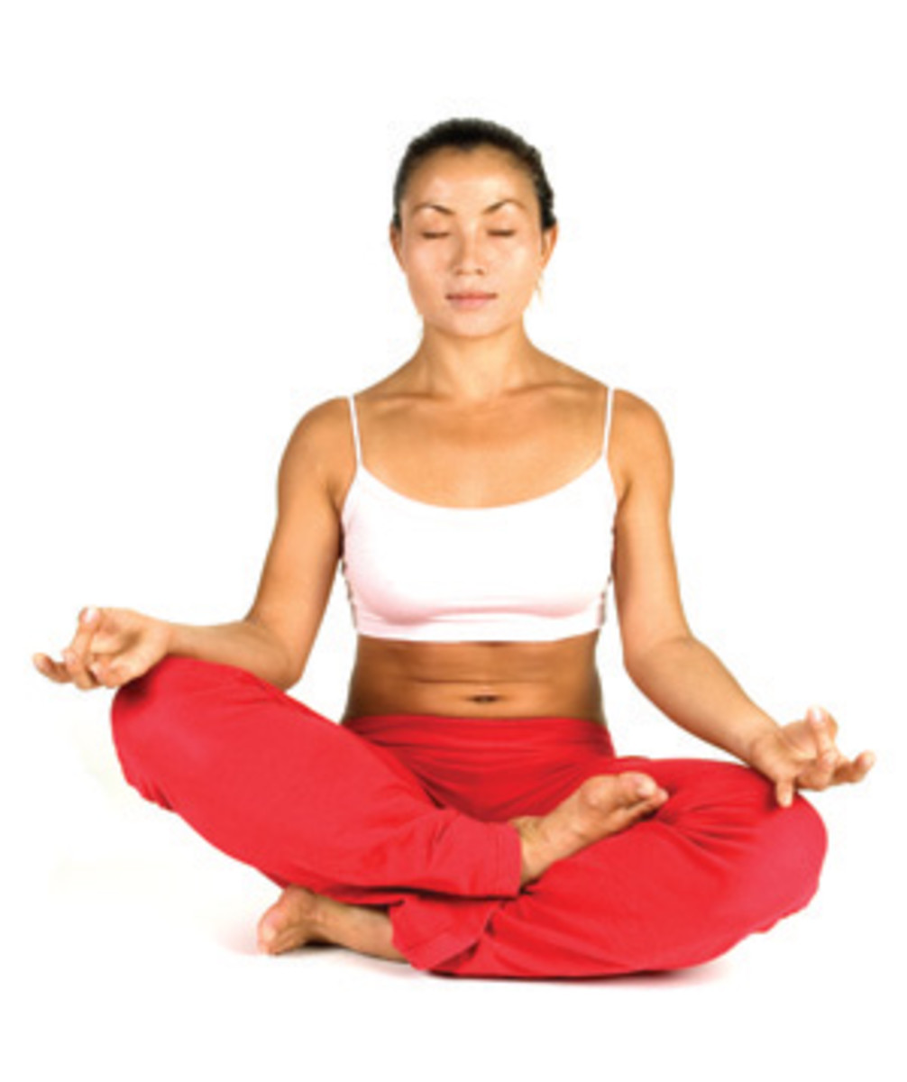 Meditation and yoga are 2 ways you can control your stress levels.
