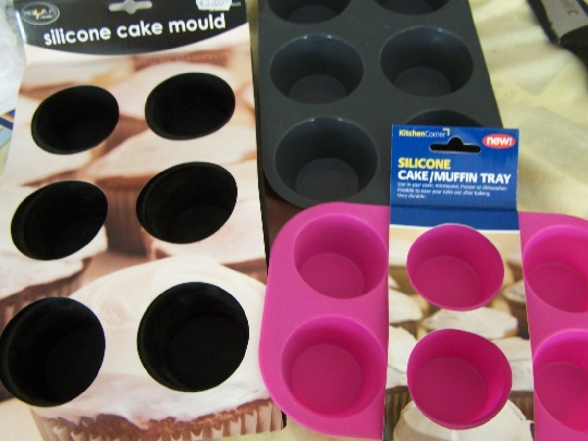 Silicone Cookware, Silicone Muffin Cases