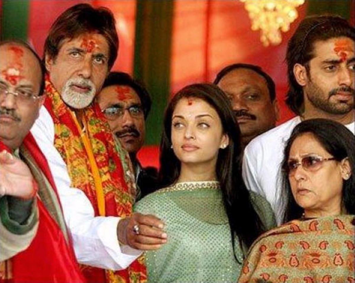 Abhishek and Aishwarya Rai Bachchan After Wedding1 Post info