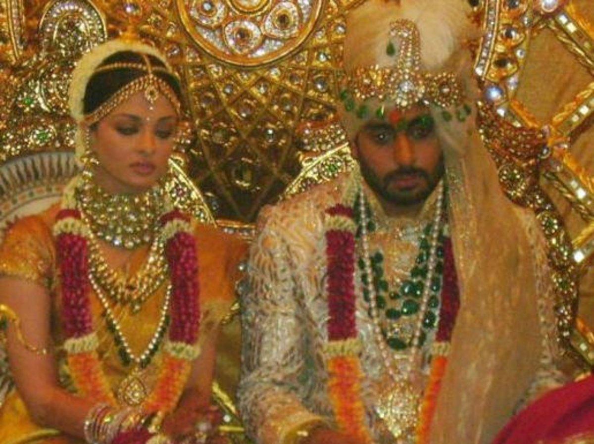 aishwarya rai wedding pic