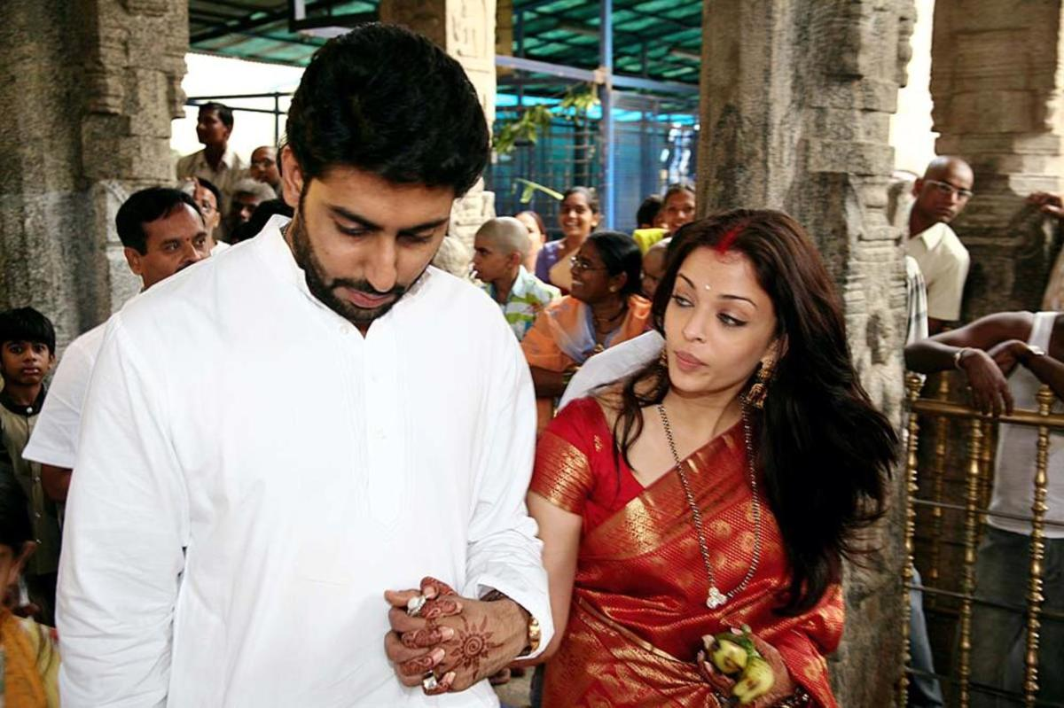 Aishwarya looking at