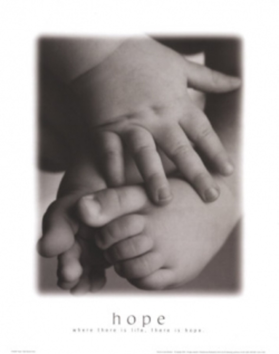 """Hope:  Baby Hands and Feet"""