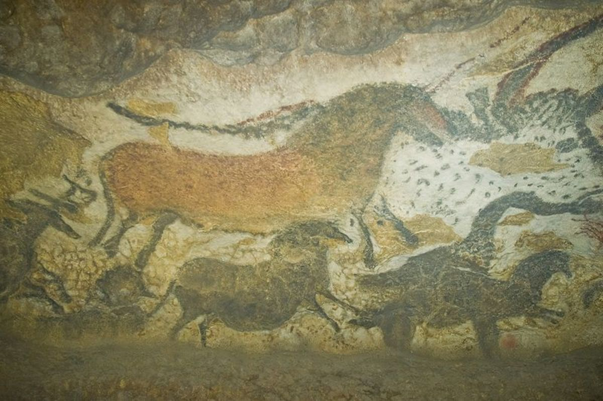 Cave painting from Lascaux in France