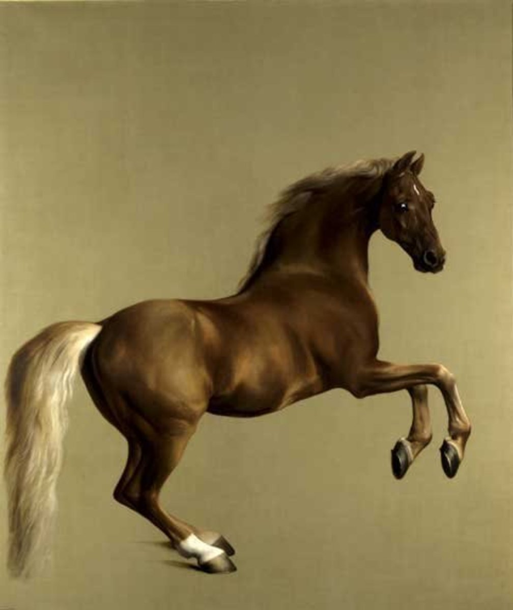 Whistlejacket by George Stubbs. Courtesy of Wiki Commons