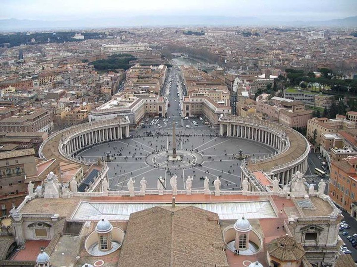 Obelisk at the Vatican is a sundial to track their god Amen the Sun god. This obelisk is from Heliopolis. The city of the sun.