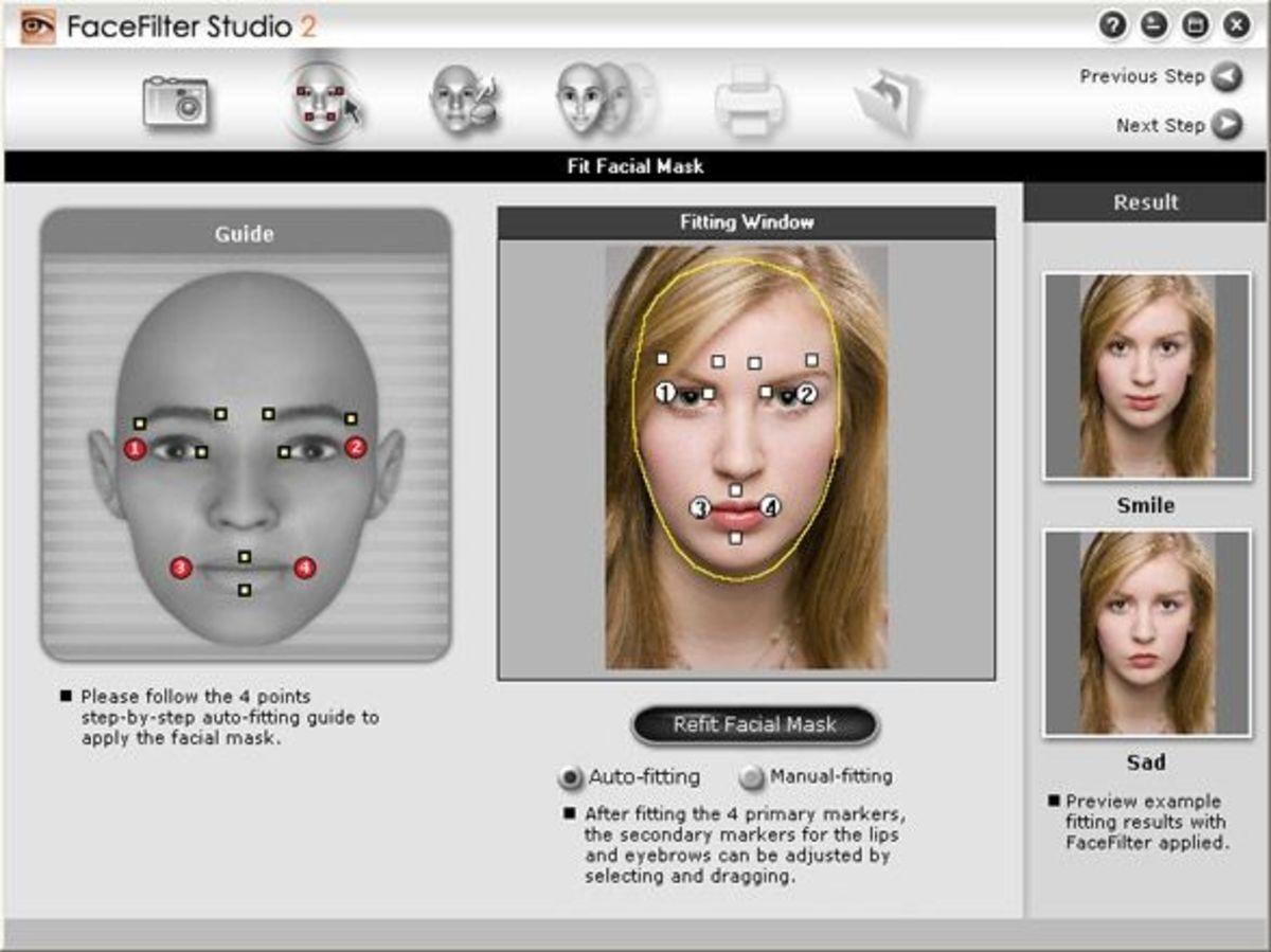 Face image editor