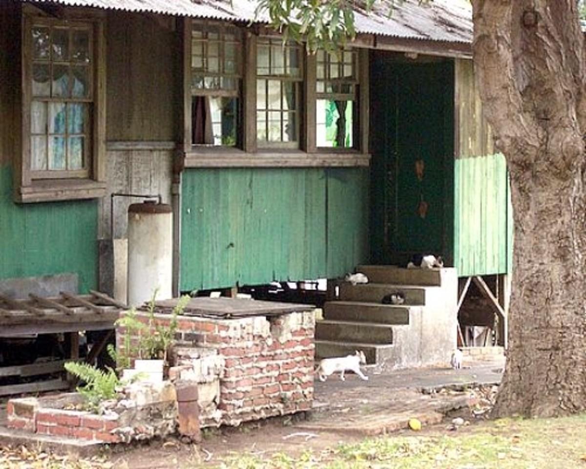 Old Pahala Sugar Plantation House