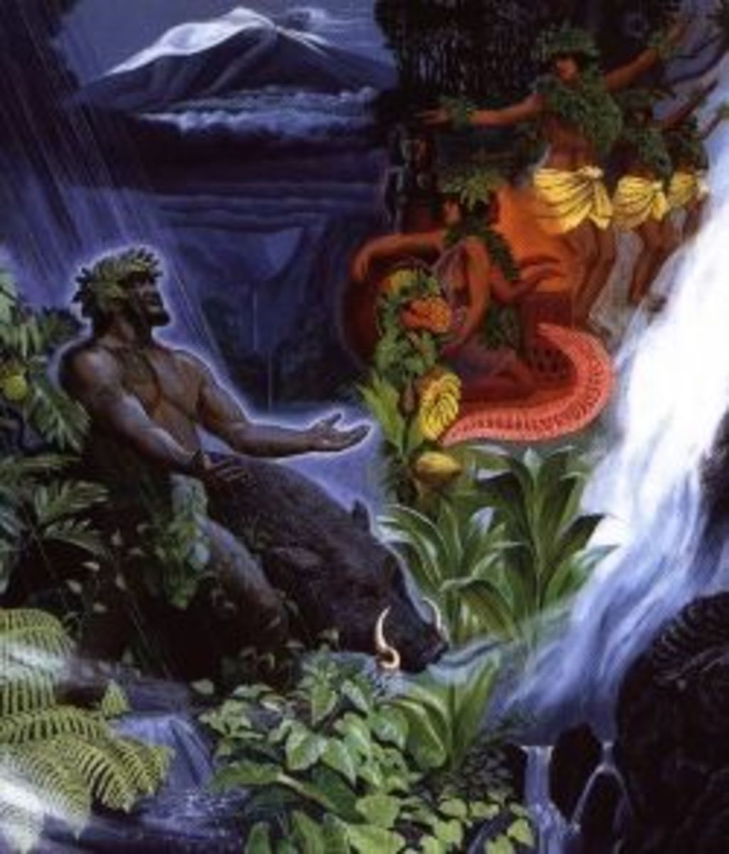 Painting by the Island's Legendary, Renown Artist, & Author Herbert Kane