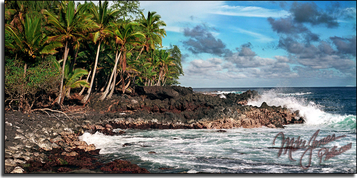 The Puna Coastline to Pahoa