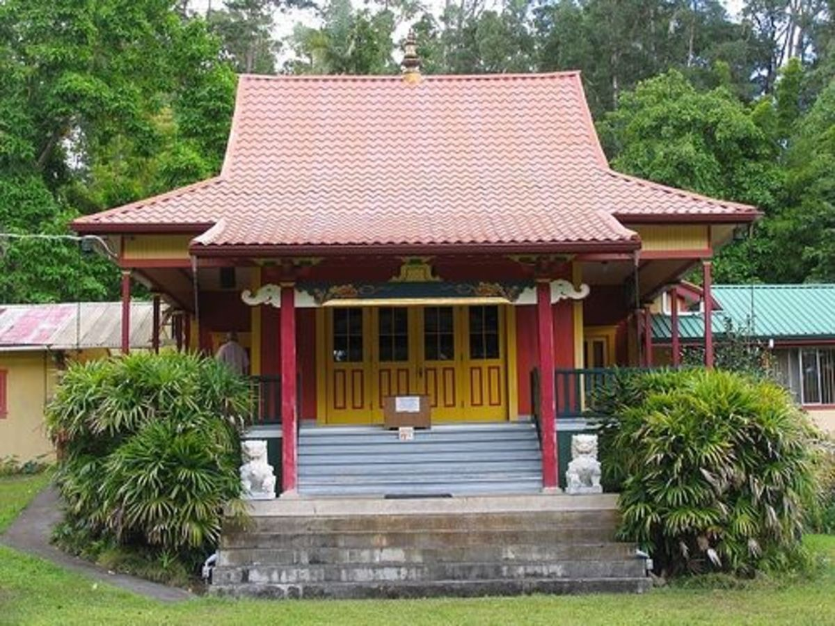 Wood Valley Tibetan Buddhist Temple of Pahala
