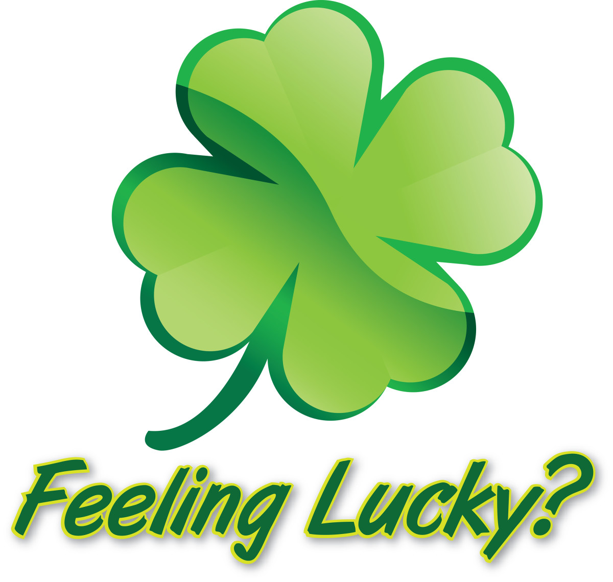 The first leaf is for faith, the second for hope, the third is for love and the fourth leaf is for Luck!