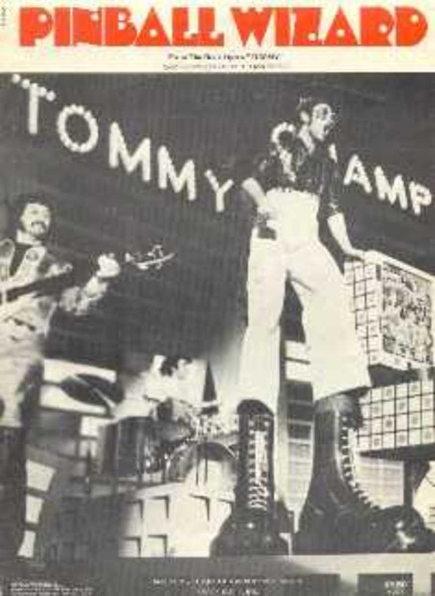 """The Pinball Wizard from the film """"Tommy"""""""