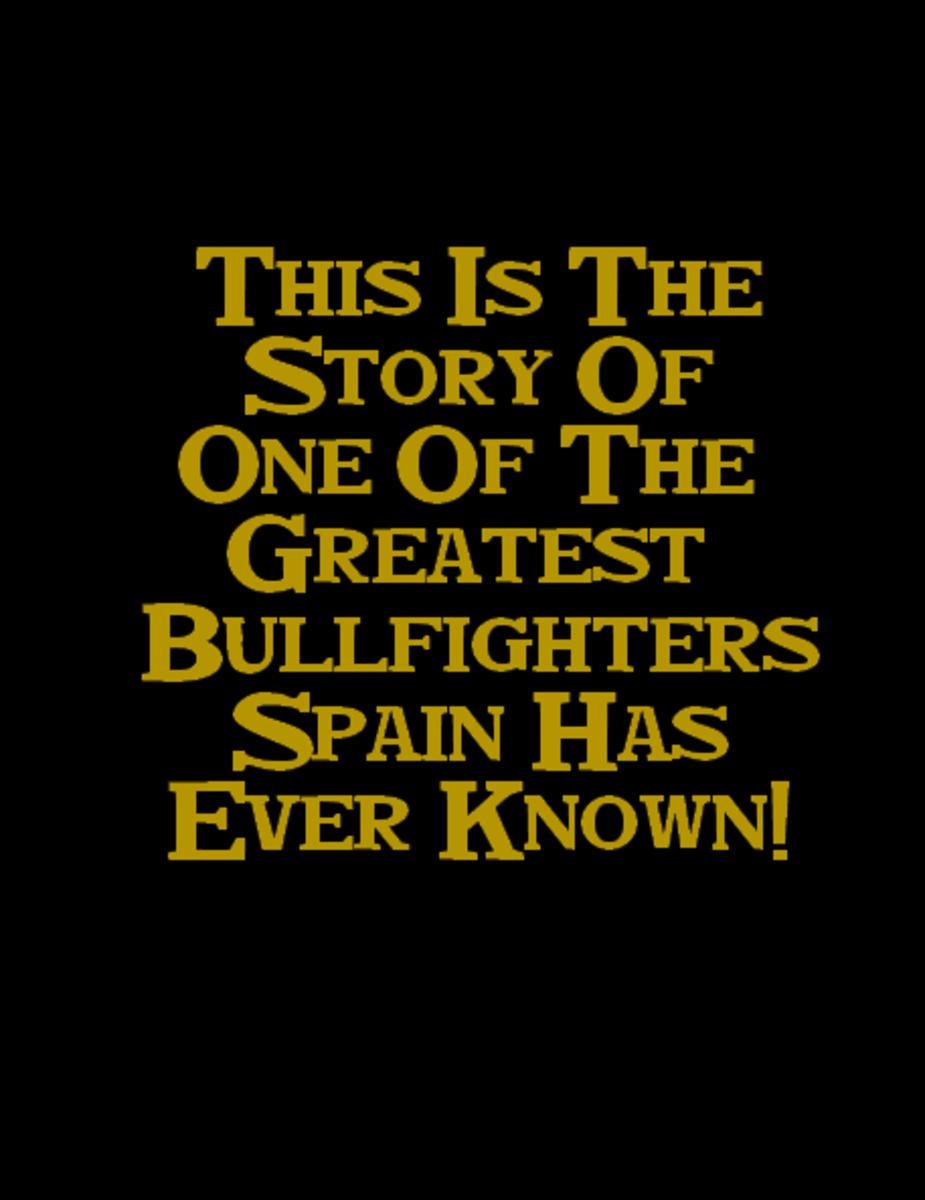 manolo bullfighter