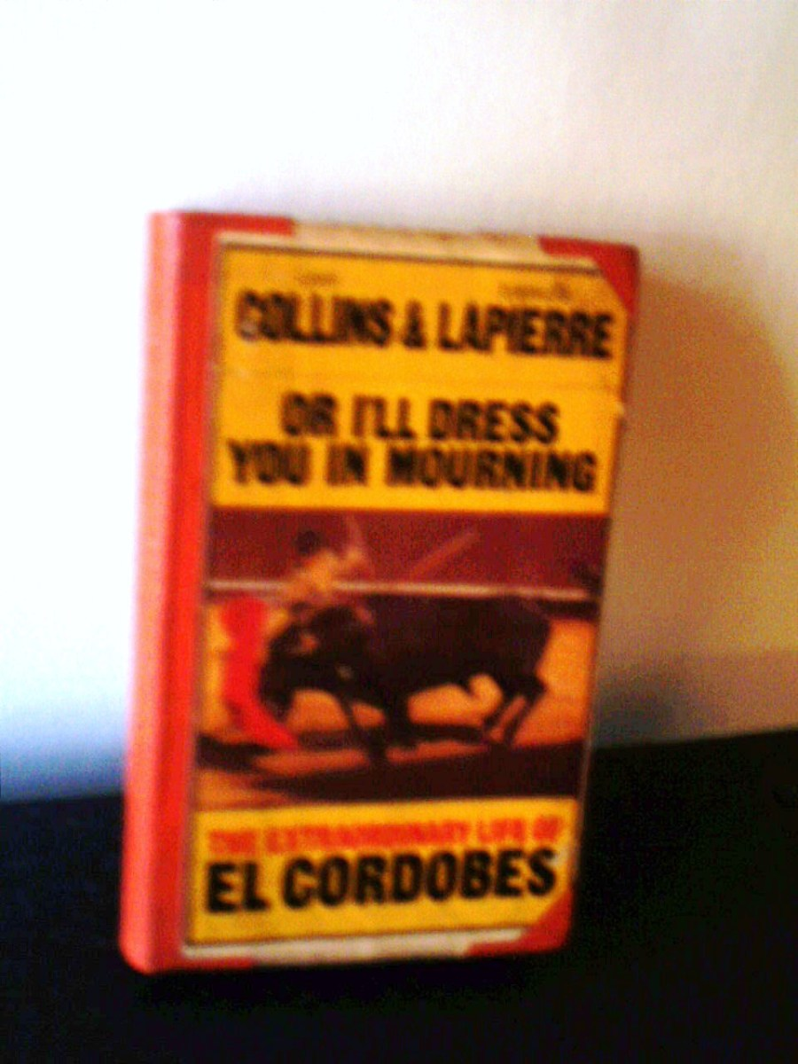 The Bullfighter - Or I'll Dress You In Mourning - The Novel Describing The Life Of Manolo Benitez Perez, The Matador Who Reconfigured What Was Known As Bullfighting Drama! Scroll Down For More Details Of This Book.