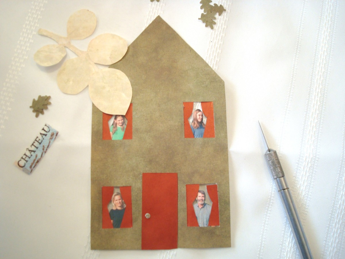 Designing an Altered Book Page