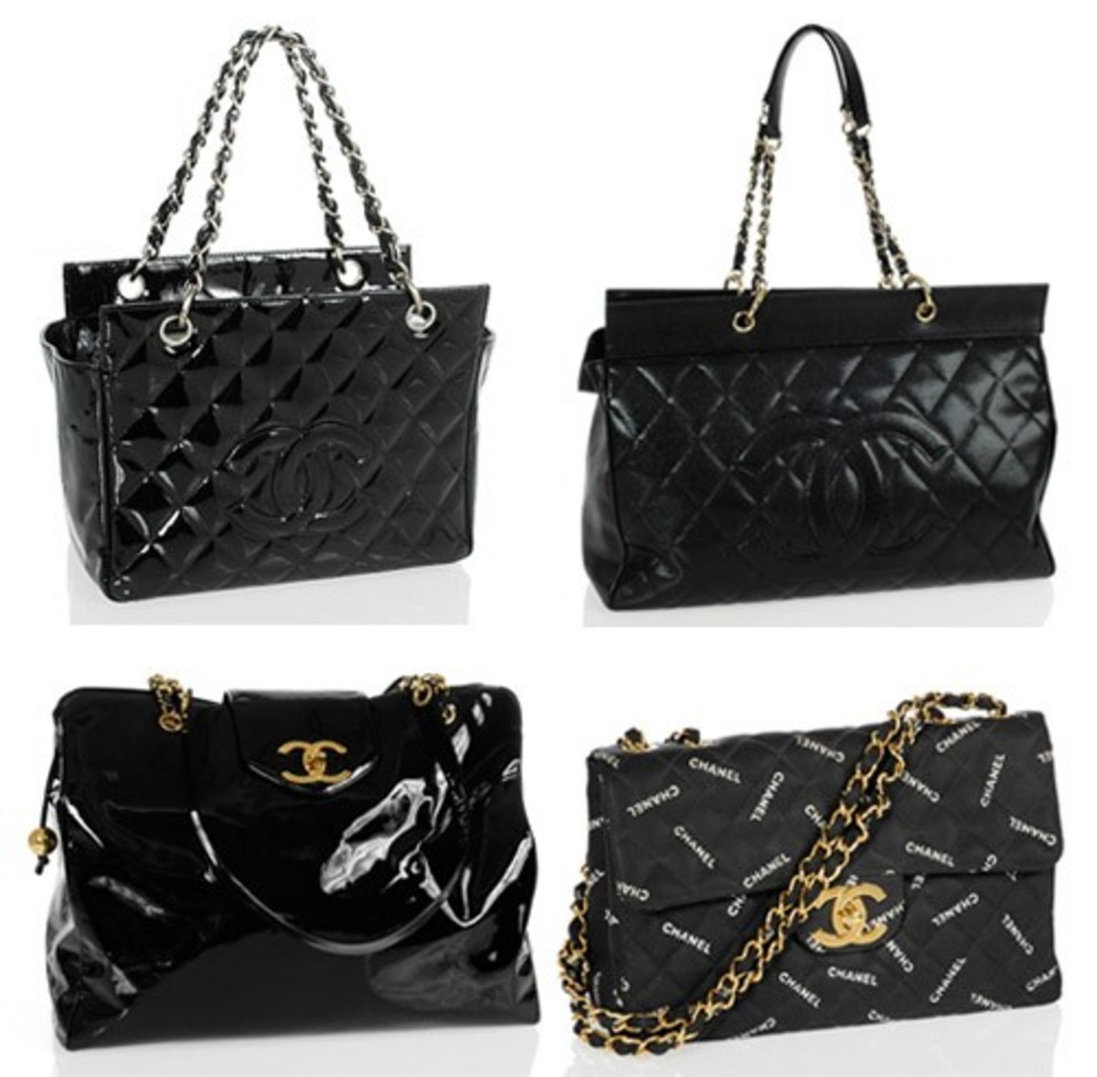 Portero.com, an online luxury auction site is taking bids for 200 vintage and classic quilted Chanel bags