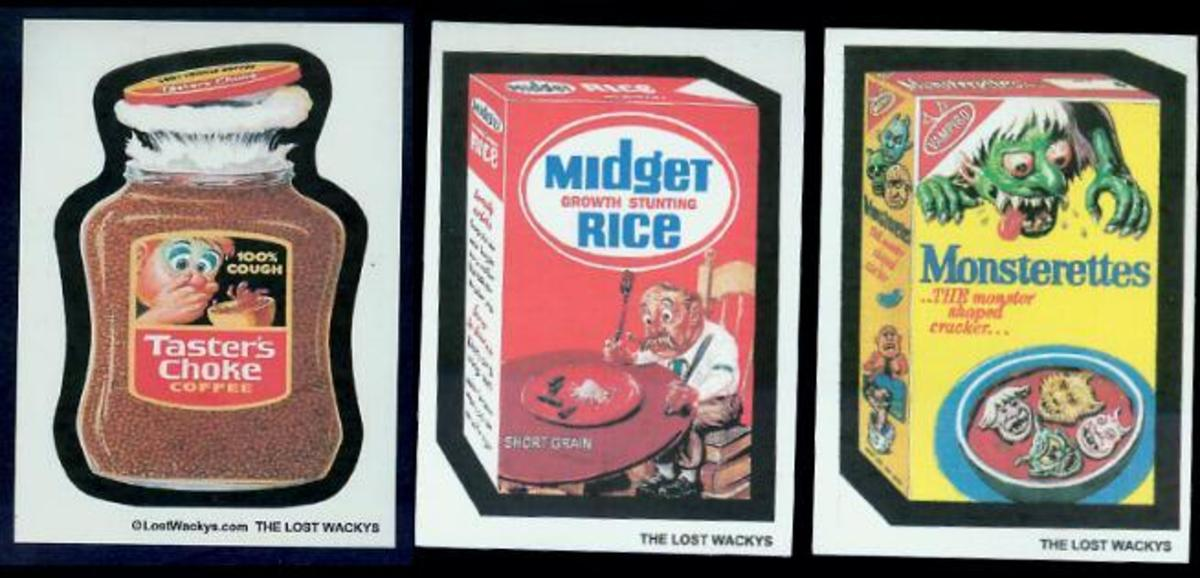 Do You Remember Collecting Wacky Packages?