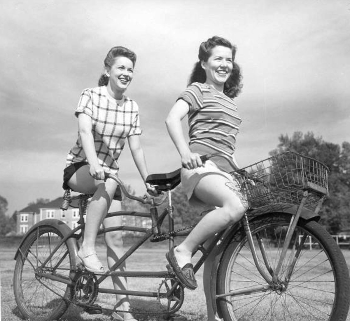 Want to learn how to ride a tandem bicycle?