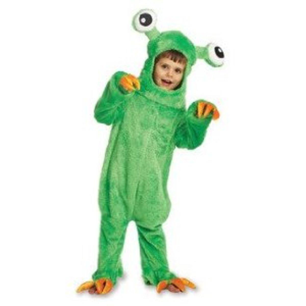 Big Green Monster Costume