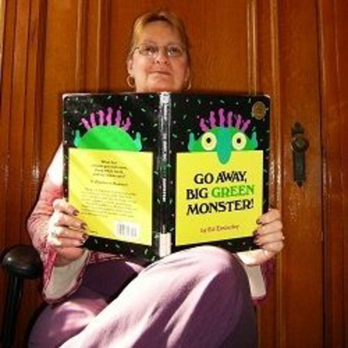 Reading Go Away Big Green Monster