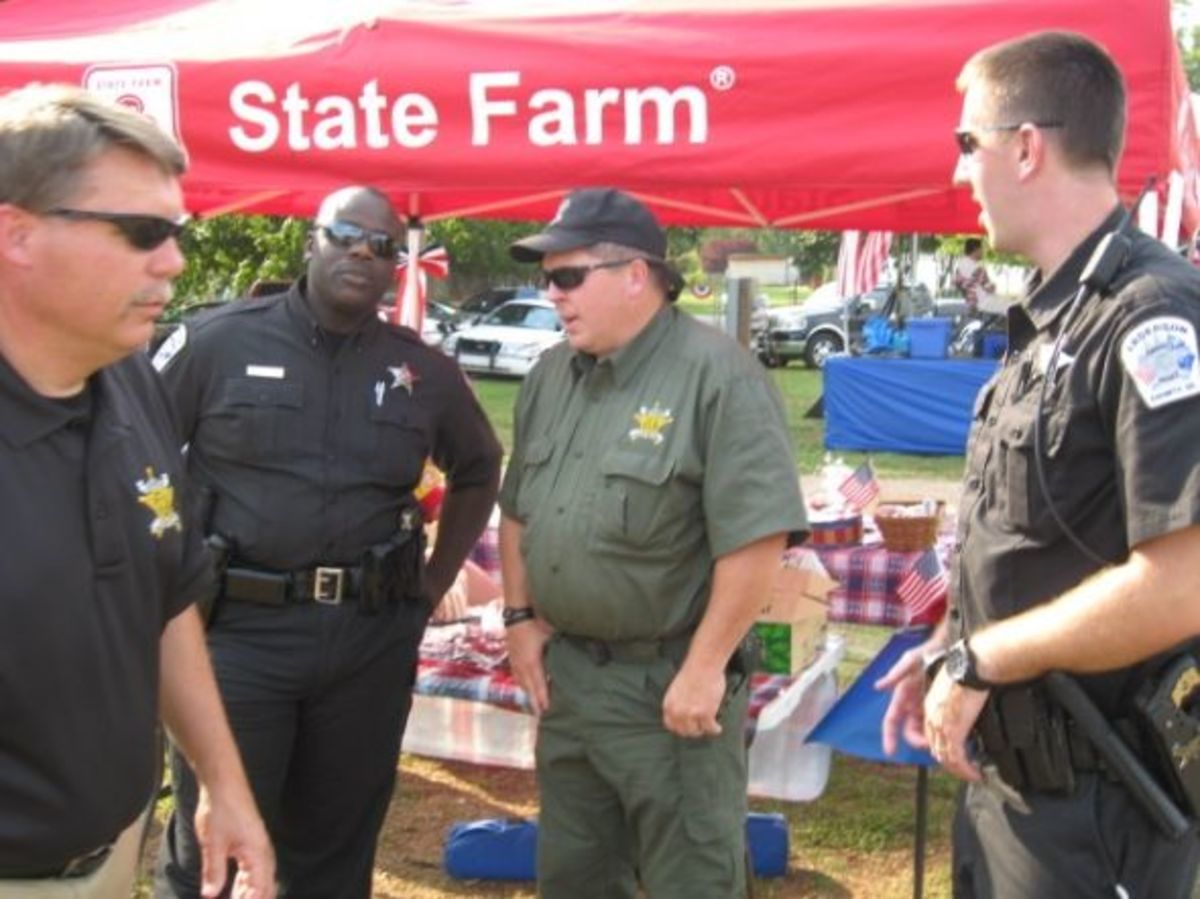Anderson Co Sheriff's Office at Freedom Fest The following officers will be at Freedom Fest and we appreciate their being there!Cpl. David Davis. Tyrone Williams, Terry Crooks, Jason Perkins, and Ray Graham