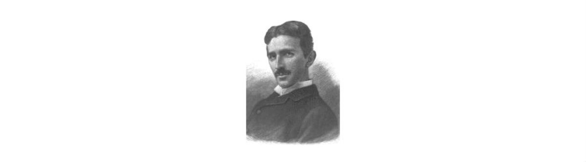 Nikola Tesla, 1856-1943, American inventor of radio,controlled boats, the infamous Tesla coil, and tons of other neat little gadgets.