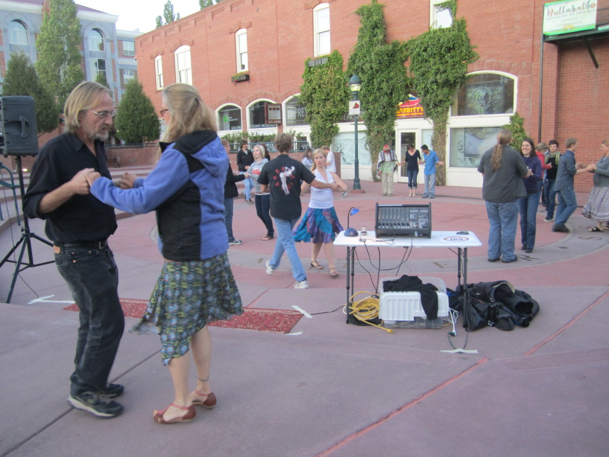 Dancing on the Square, Heritage Square, Flagstaff