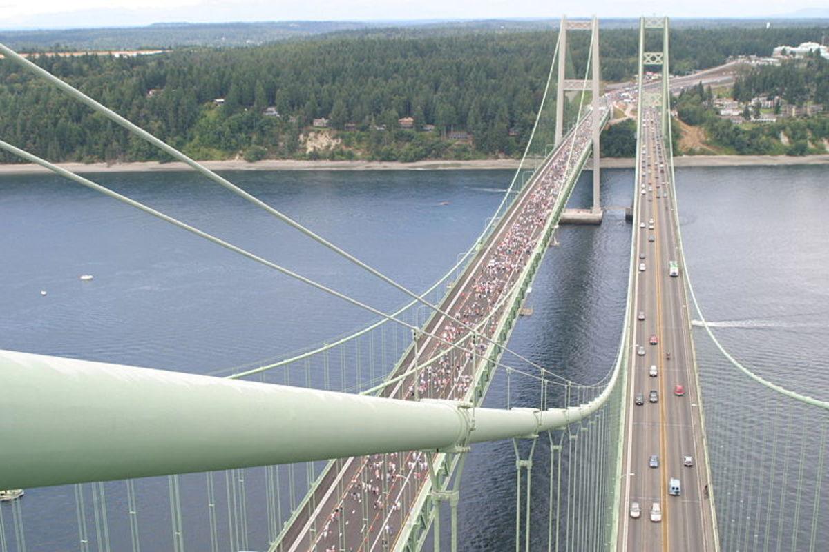 The Tacoma Narrows Bridge today