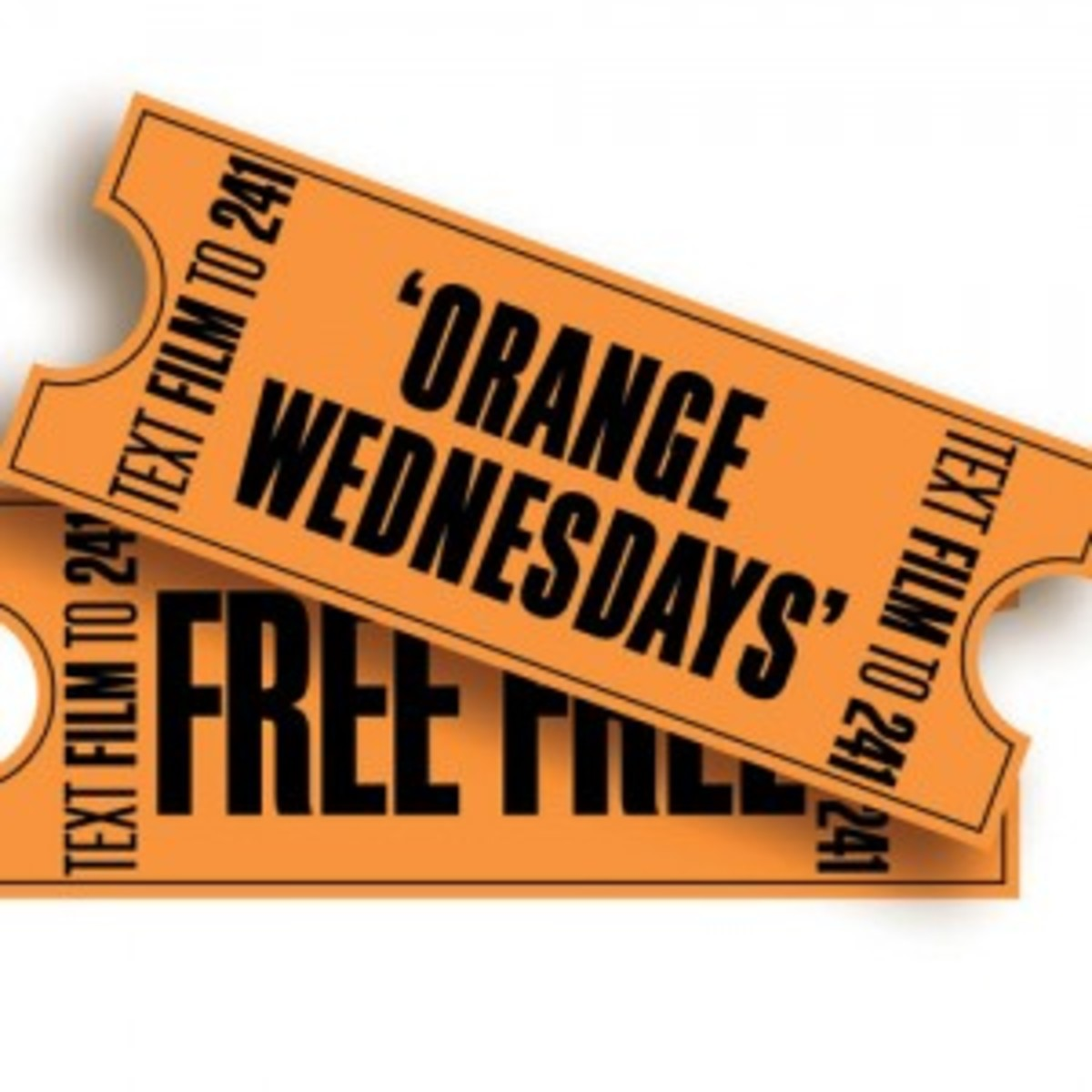 Claim your free cinema tickets With the Orange Wednesday deal