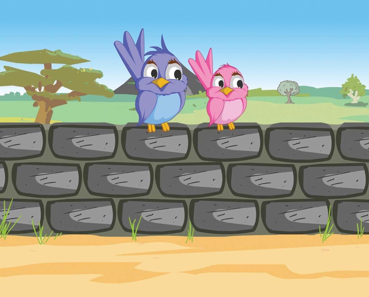 Nursery Rhymes - Two Little Dickey Birds