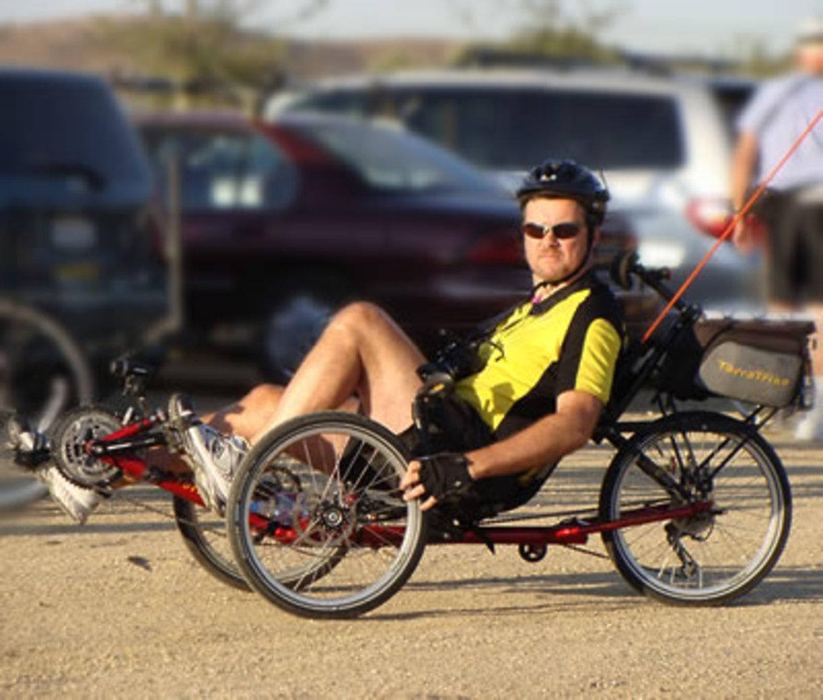 Recumbent Trike - My Midlife Crisis Car