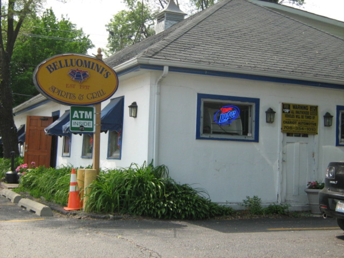 """This is the only bar in Hinsdale - """"grandfathered"""" in since the city went dry, so I'm told"""