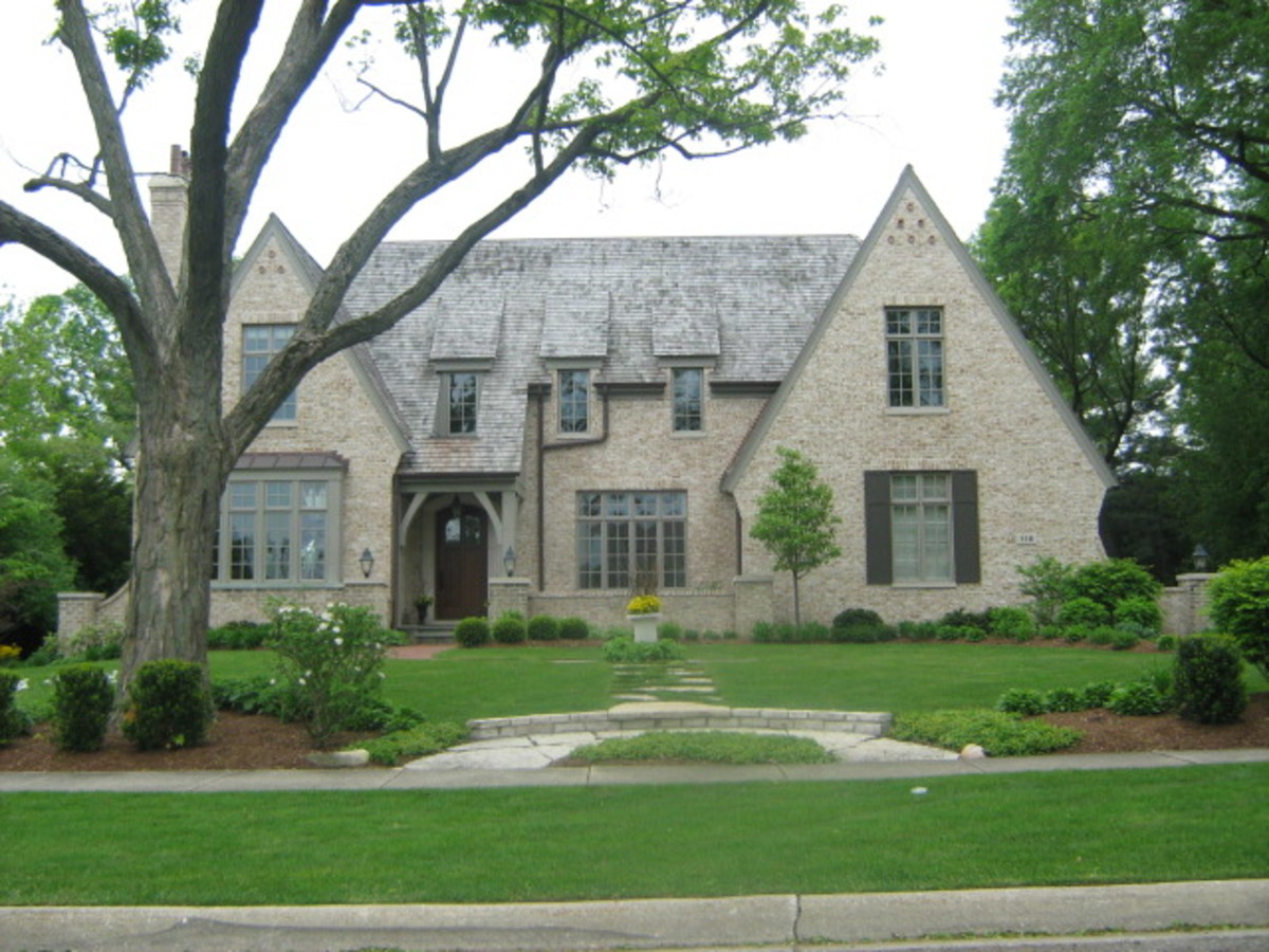 A very large home in Hinsdale